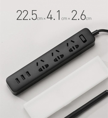 Xiaomi Power Strip (With 3 USB Port)